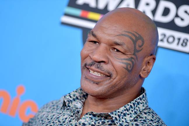 Mike Tyson in 2018. Credit: PA
