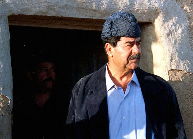 Saddam Hussein served as the fifth president of Iraq from 1979 until 2003. Credit: PA