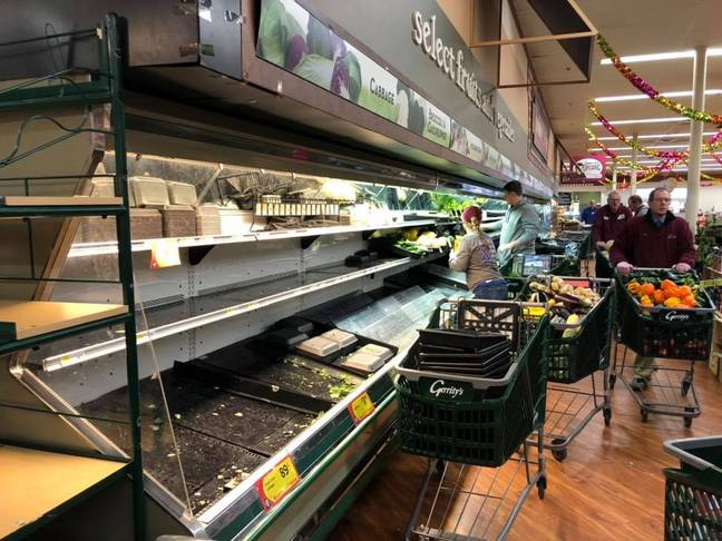 The store had to throw away $35,000 worth of food. Credit: Facebook/Gerrity's Supermarket