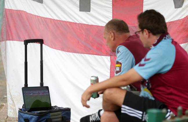 It is hoped the sentence will deter fans from illegally streaming matches. Credit: PA