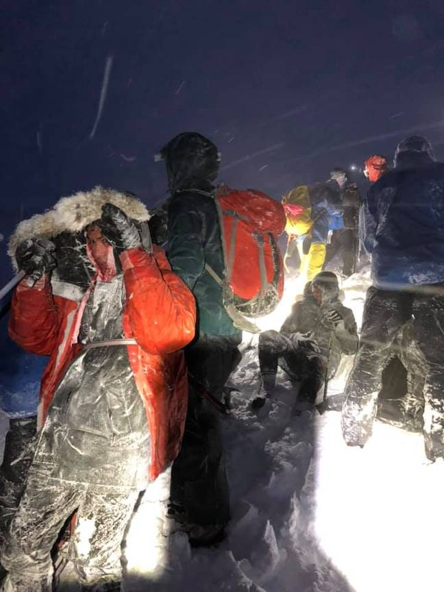 Credit: Facebook/Lochaber Mountain Rescue Team