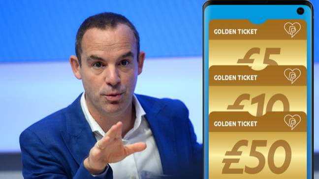 Martin Lewis Urges People To Check Their PayPal For Golden Ticket. Credit: PA / PayPal