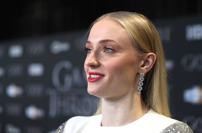 Sophie Turner at the Game of Thrones premiere in Belfast. Credit: PA
