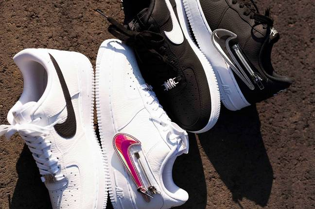 How much would you pay for a switchable swoosh? Credit: Atmos