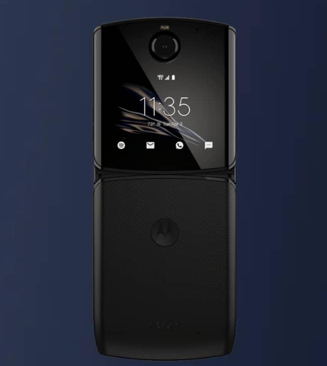 The updated Motorola Razr. Credit: Motorola