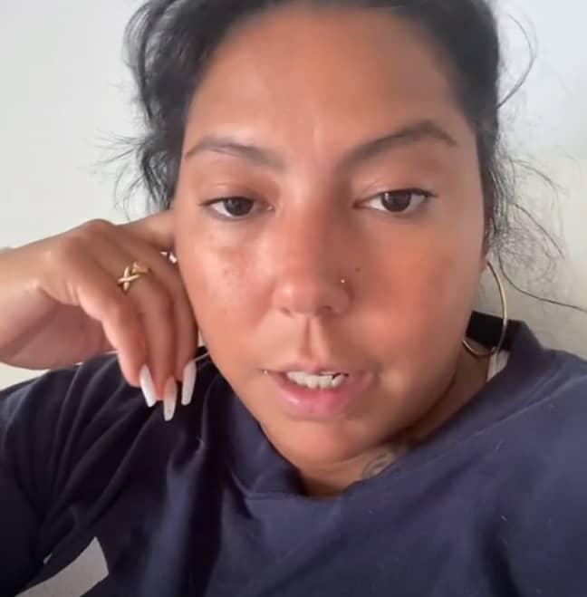 Nena has recounted her experiences on TikTok. Credit: TikTok/@nenahysteria