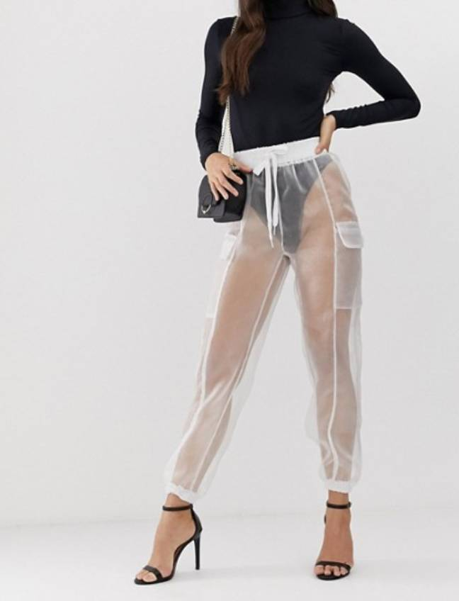 The trousers are on sale on ASOS for £40. Credit: ASOS