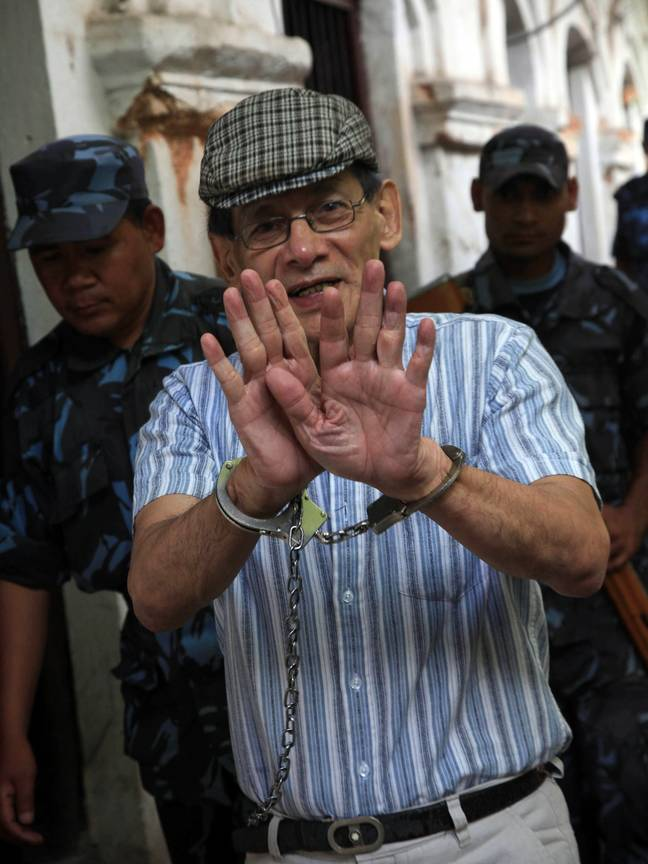 Sobhraj was arrested in Kathmandu in 2003, where he is now serving a life sentence. Credit: Shutterstock