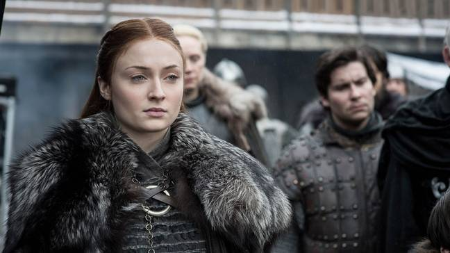 Sophie Turner as Sansa Stark. Credit: HBO