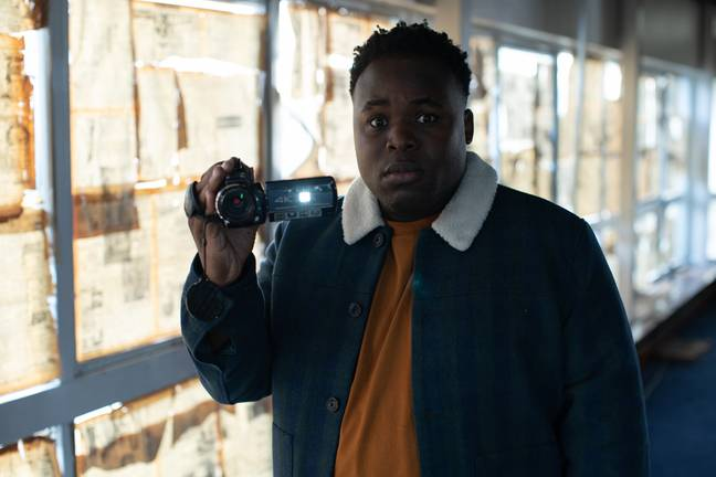 Samson Kayo as Elton. Credit: Amazon Prime