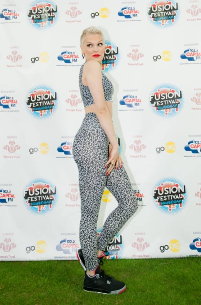 Jessie J likes them. Credit: PA