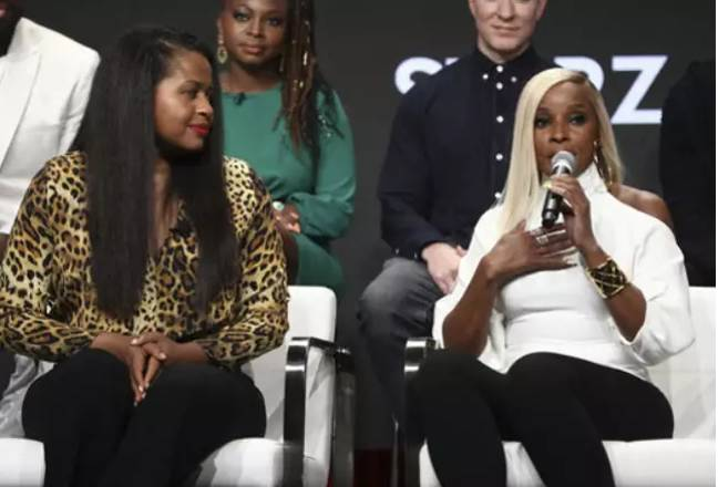 Courtney Kemp (left) and Mary J Blige (right). Credit: PA
