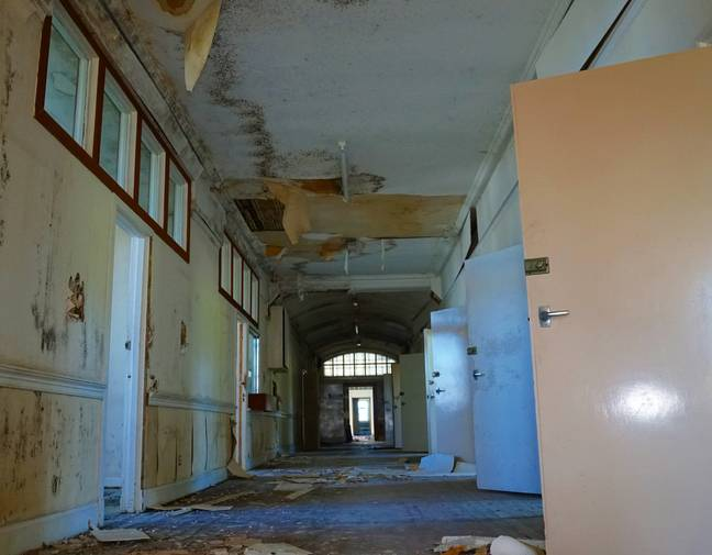 Inside the abandoned asylum. Credit: CONTENTbible