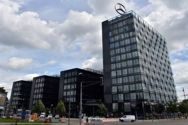 Mrs Huo flew to Mercedes-Benz's headquarters in Stuttgart, Germany, to complain. Credit: PA
