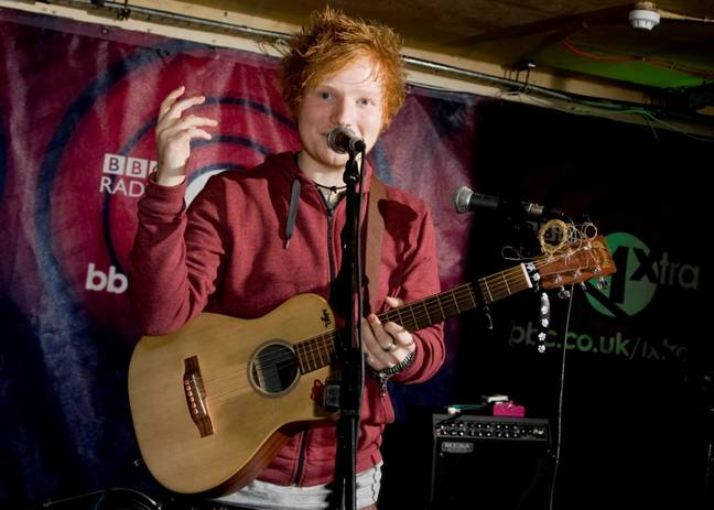 Baby-faced Ed in 2011. Credit: PA