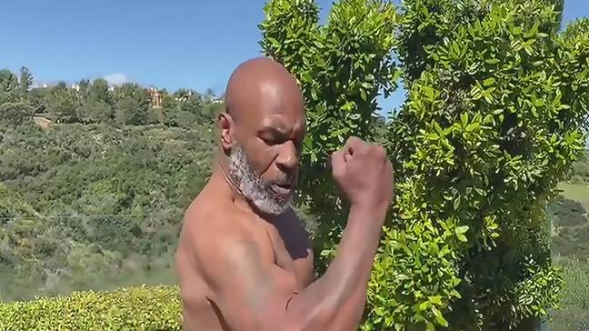 Tyson showed off his impressive speed once again. Credit: Golder's News & Sport Ltd