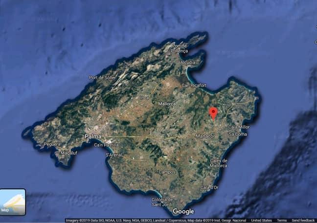 The Love Island Villa Has Been Found On Google Maps. Credit: Google Maps