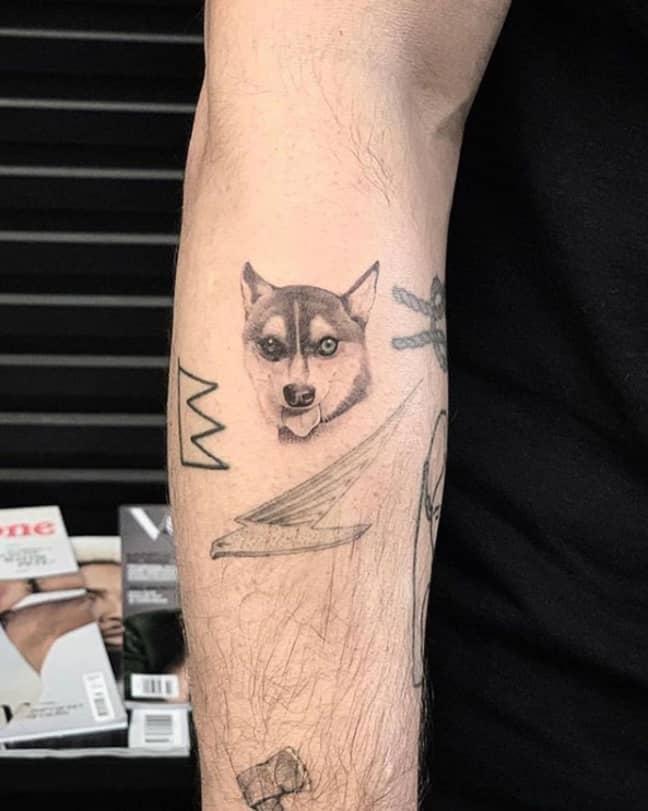 Jonas' tattoo. Credit: Joe Jonas/Instagram
