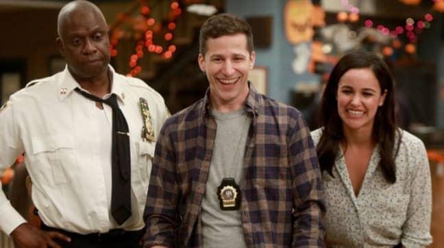 Andy Samberg Pleads For Bruce Willis To Make Cameo In Brooklyn Nine-Nine. Credit: NBC