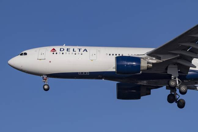 A Delta Airlines passenger reportedly attempted to open the plane's door mid-flight recently. Credit: PA