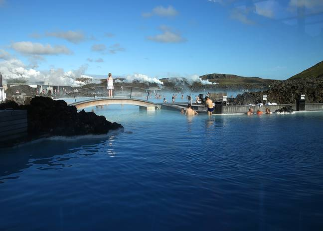 The trip also includes a journey to the famous Blue Lagoon. Credit: PA