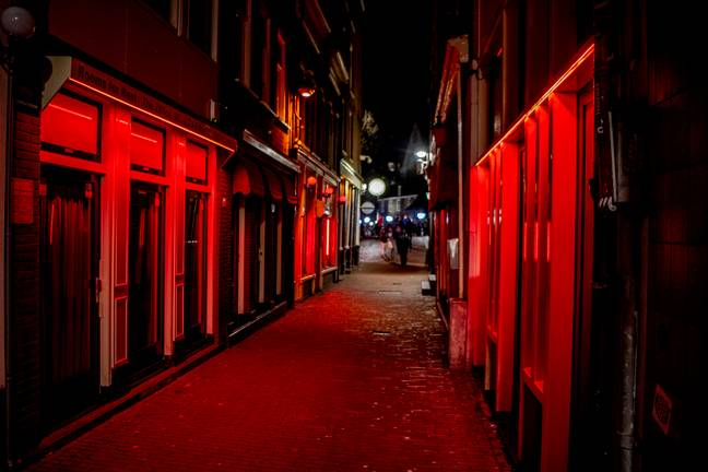Amsterdam is known for its Red Light District. Credit: PA