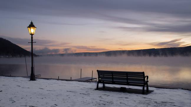 The woman's condition was triggered by the freezing −9°C temperatures in upstate New York. Credit: Flickr/Brian Holland