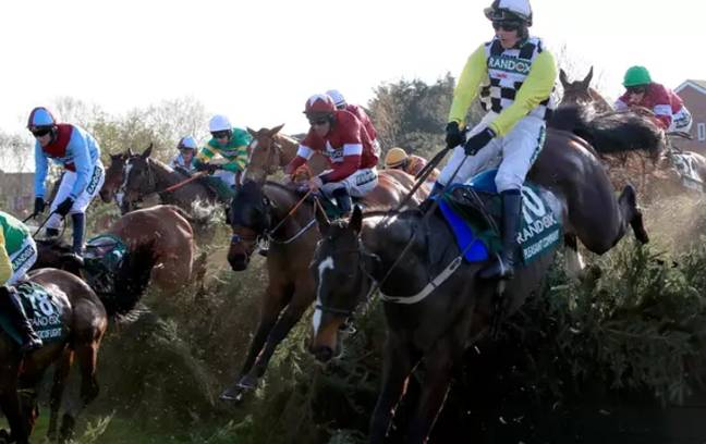 A virtual Grand National will replace the real thing on ITV on 4 April. Credit: PA