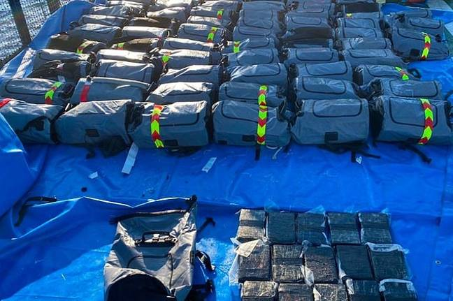 Police also seized loads of hashish recently. Credit: National Crime Agency