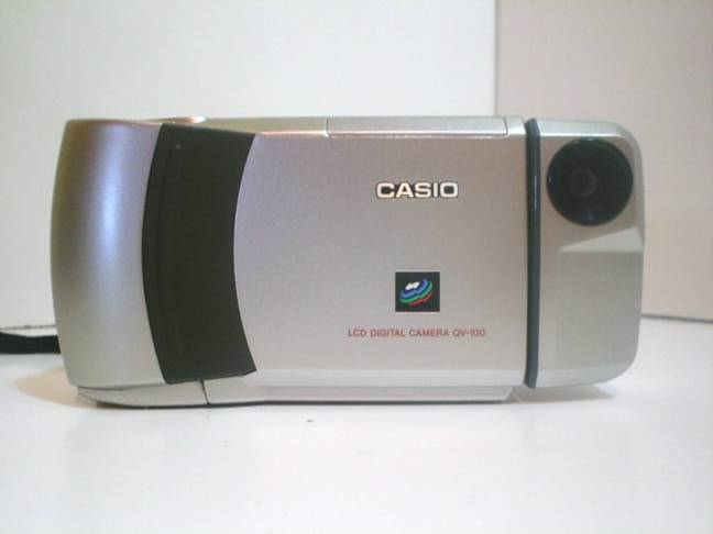 Casio QV-100. Credit: Flickr/Alistair Paterson