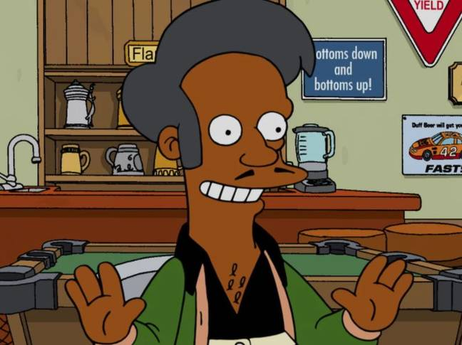 Azaria stepped aside as the voice of Apu. Credit: 20th Century Fox