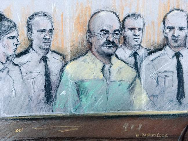 Bronson in court in 2018. Credit: PA