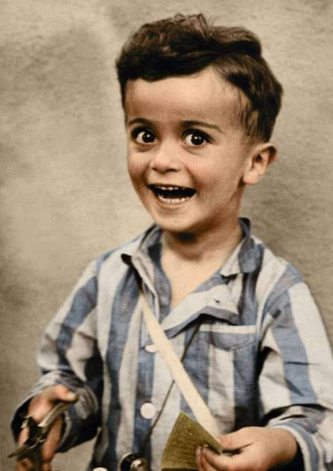 Four-year-old Istvan Reiner was killed in the gas chamber at Auschwitz. Credit:Tom Marshall