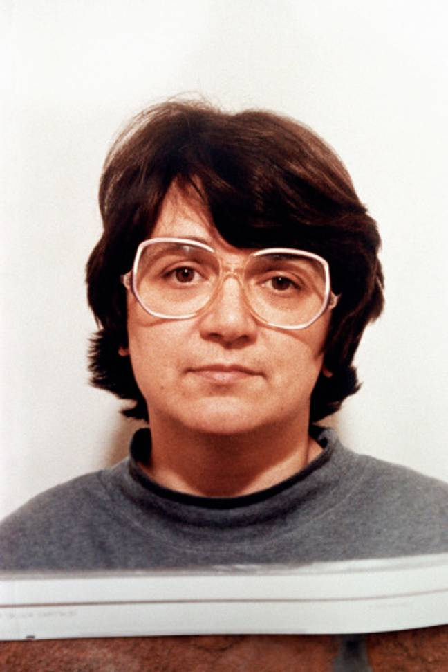 Rosemary West issued by the Police after she had been imprisoned for life on ten counts of murder. Credit: PA