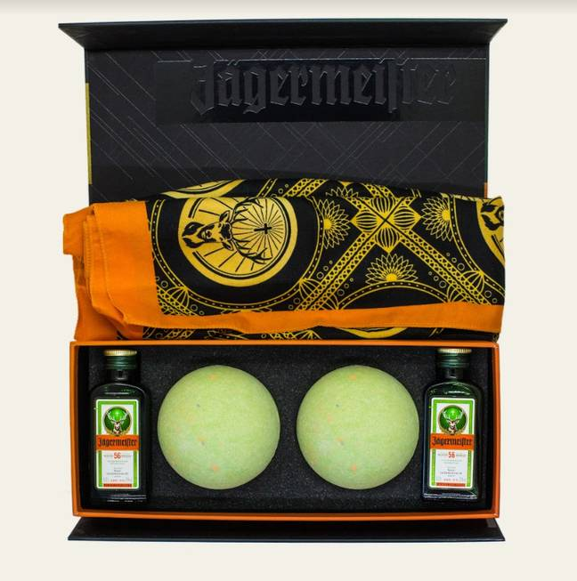 Jäger Bath Bomb anyone? Credit: Jägermeister