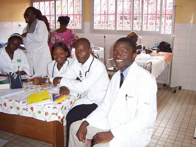 Desmond is now using his skills to improve health systems in Cameroon. Credit: Desmond Jumbam