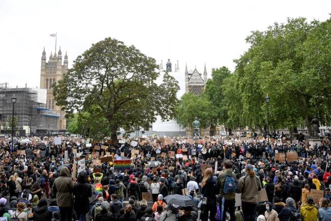 Parliament Square in London. Credit: PA