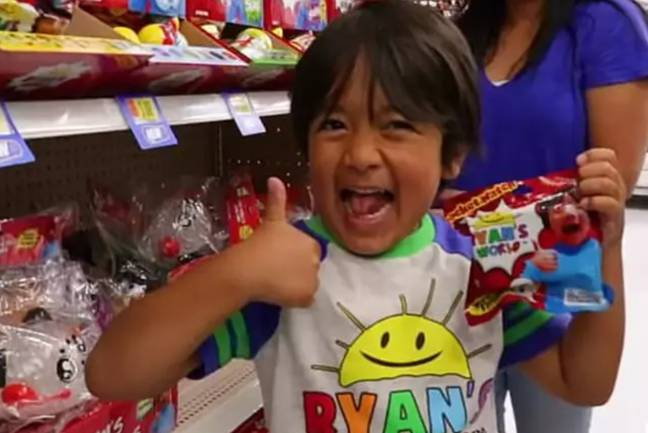 Ryan's parents came under fire from an advertising watchdog. Credit: YouTube/Ryan's World