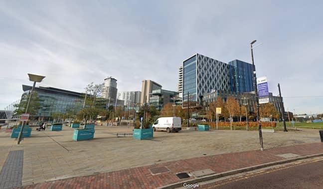 Media City in Salford in 2020. (Credit: Google Maps)