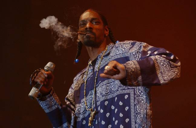 Snoop would make the legalisation of weed his top priority as US President. Credit: PA
