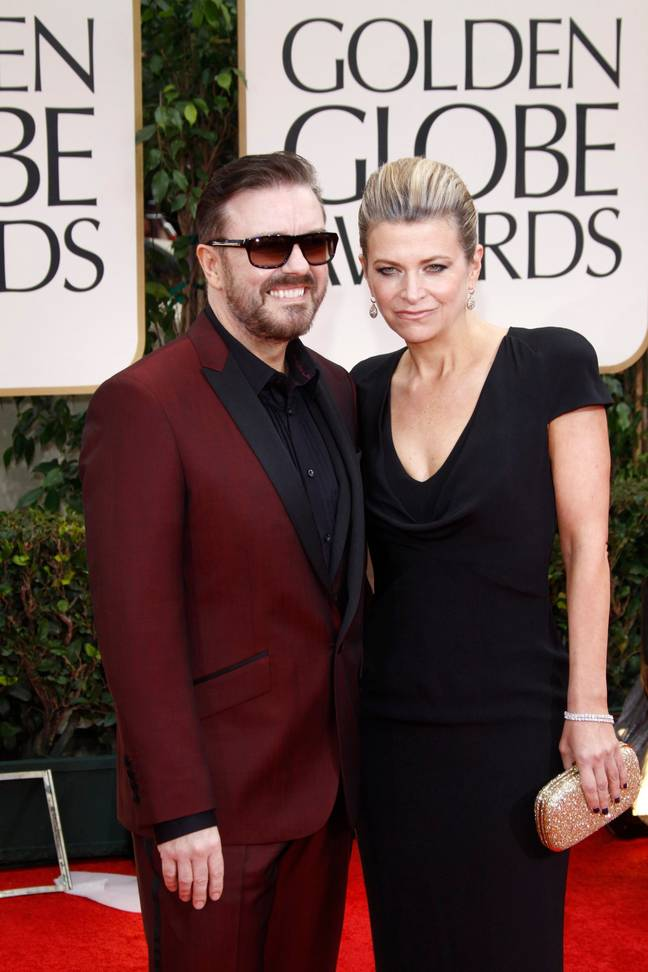 Ricky Gervais will host the Golden Globes for the fifth and last time. Credit: PA