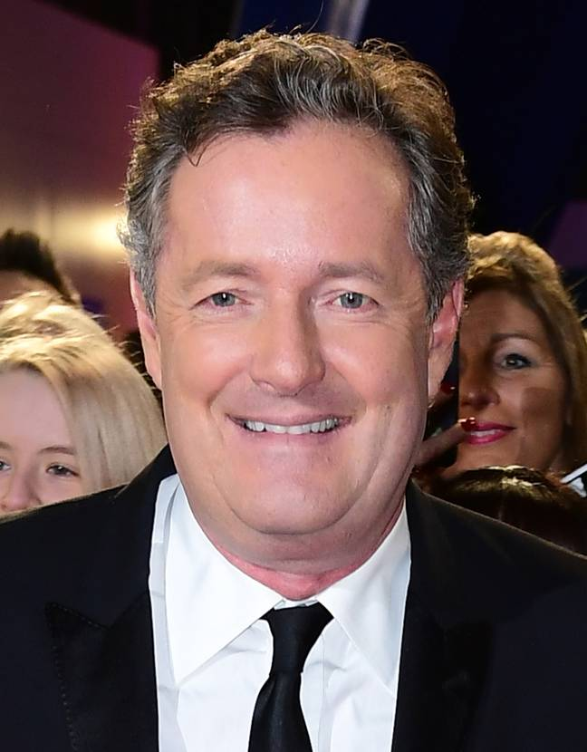 Piers Morgan. Credit: PA