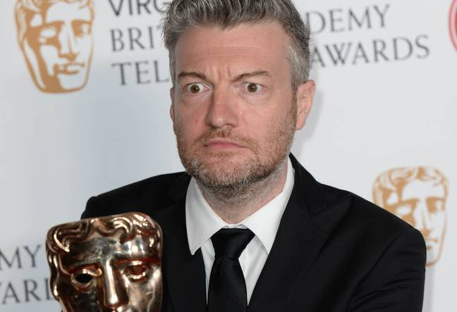 Brooker concluded this probably wasn't the year for Black Mirror. Credit: PA