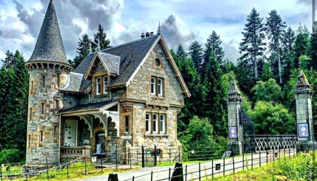 Ardverikie House Estate in Scotland. (Credit: Instagram/@ardverikie)