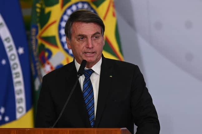 Jair Bolsonaro. Credit: PA