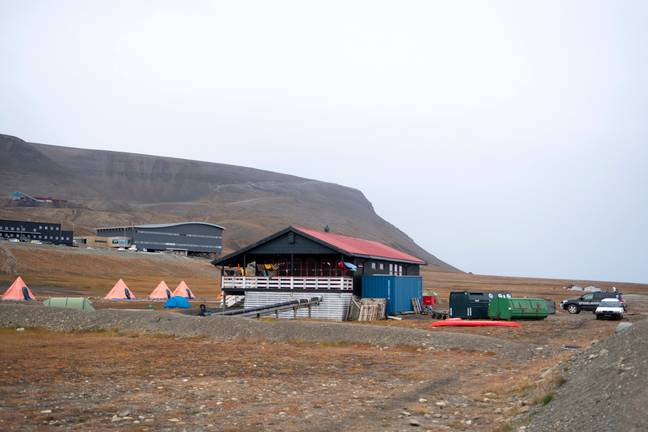 The campsite where the attack took place. Credit: PA