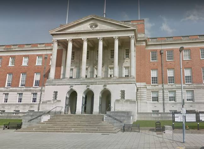 Chesterfield Town Hall. Credit: Google Maps