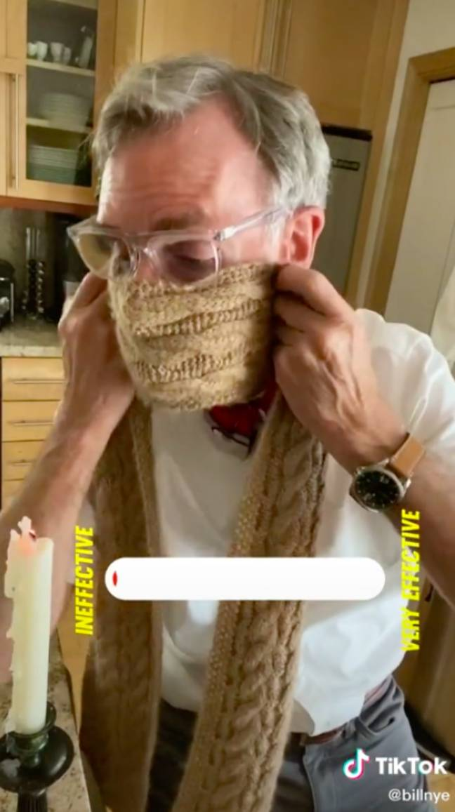 Credit: TikTok/Bill Nye