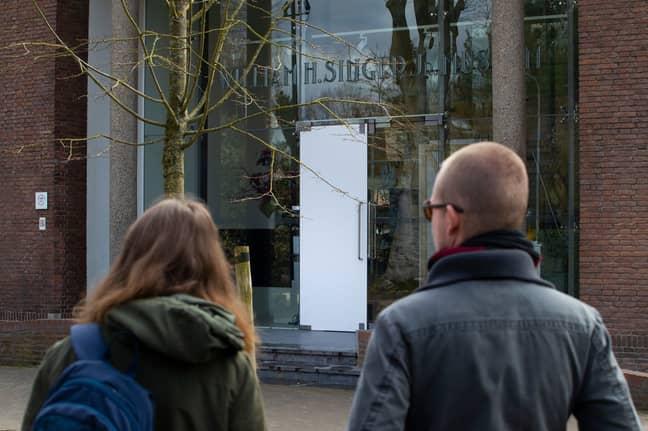 The van Gogh was stolen from the Singer Laren museum. Credit: PA