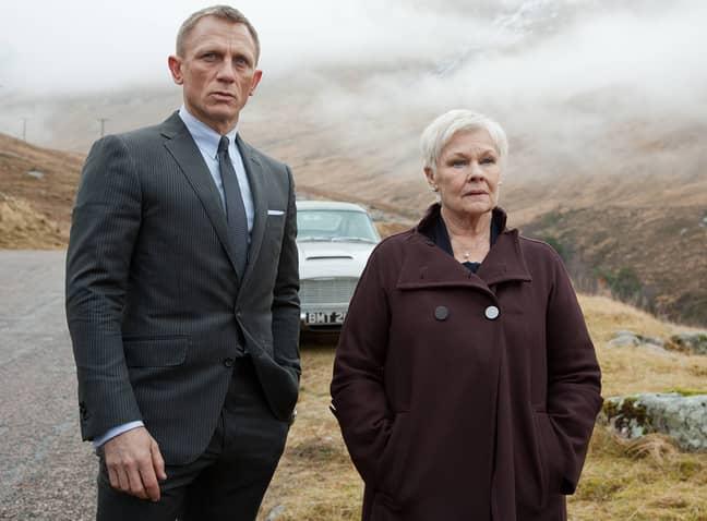 Daniel Craig and Judi Dench in Skyfall. (Credit: 007.com)